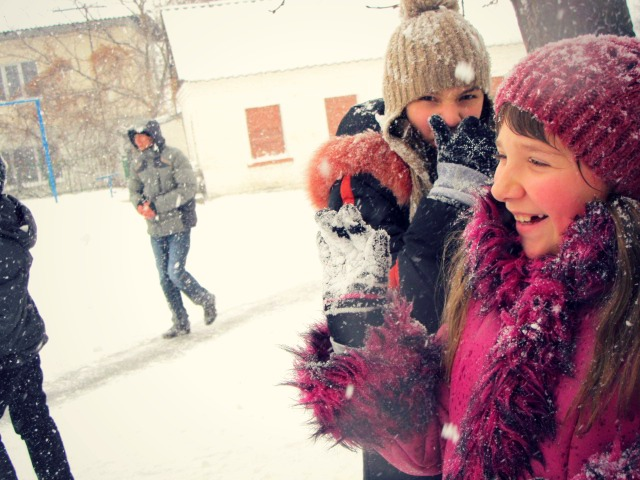 And yes I got some great photos of the winter wonderland fun!